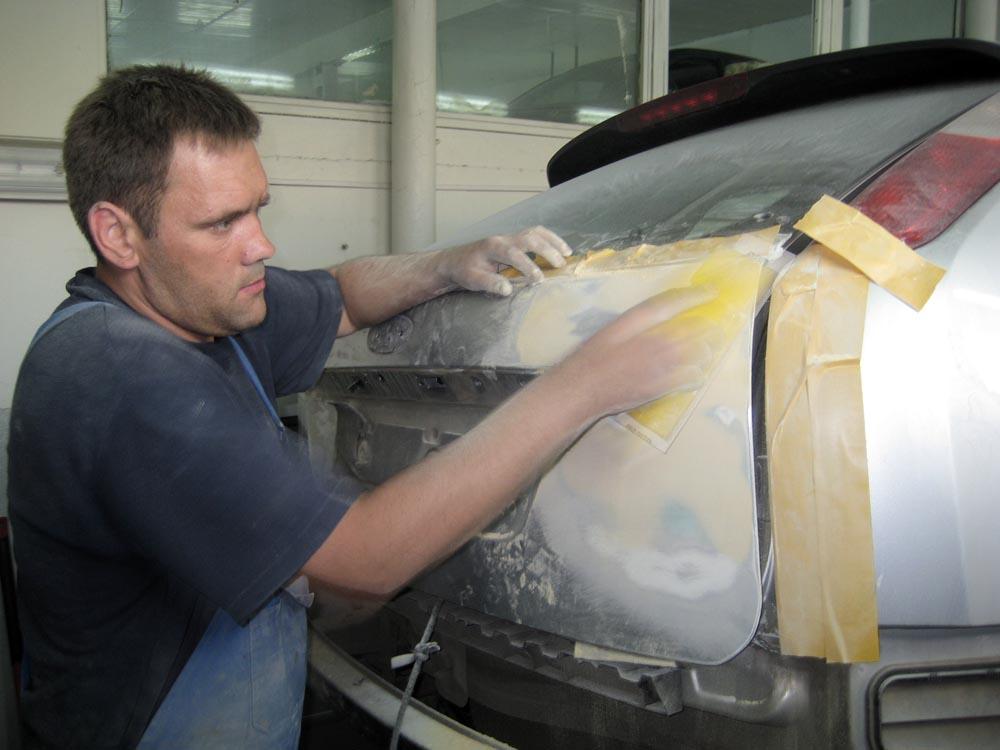 Шпаклевка автомобиля своими руками видео уроки 340